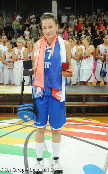 MVP: Angelika Slamová (Slovak Republic)